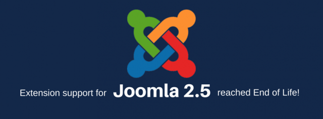 Joomla 2.5 End of Support